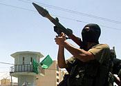 Hamas fires rockets into Israel