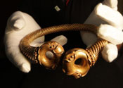 2,000-year-old Iron Age torc displayed