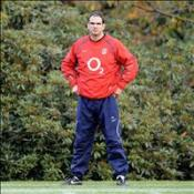 Johnson names first England team
