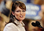 Palin wants to 'work with' Obama