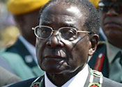 Mugabe tells world: Zimbabwe is mine