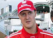 On the spot – Michael Schumacher
