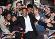 Will Smith shy about sex scenes