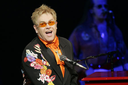 Patriot games: Sir Elton John is set for s Wembley date