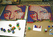 The £20,000 Rubik's Cube Mona Lisa