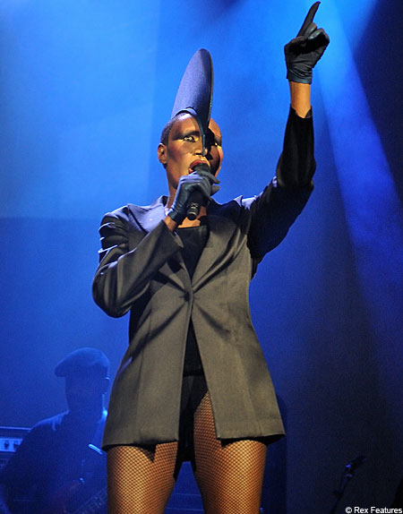 Grace Jones performs new album Hurricane at London's Roundhouse