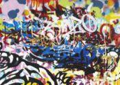 Graffiti rampage was actually student art project