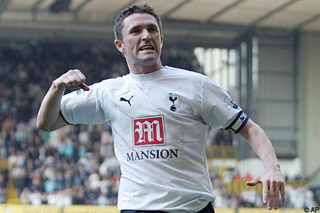 Robbie Keane at Tottenham