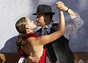 Taking the tango town tour