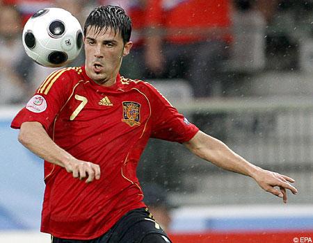On his way; Spain international Villa looks set for the Premier League