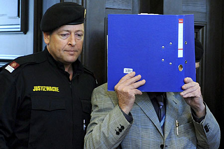 Josef Fritzl in court