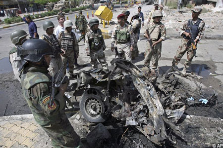 There have been a number of recent car bomb attacks in Iraq