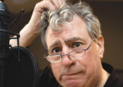 Not amused: Monty Python's Terry Jones