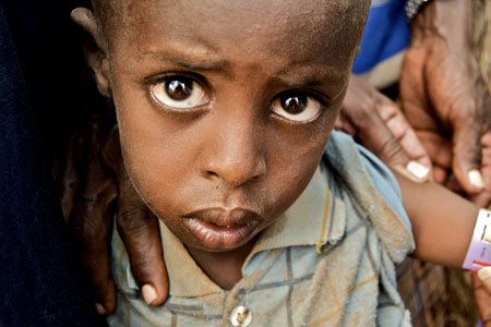 1 in 6 will starve unless G8 'gives billions' in aid
