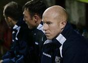 Oldham striker Lee Hughes