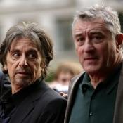 File photo dated 14/09/08 of Al Pacino (Left) and Robert De Niro arriving for the UK premiere of 'Righteous Kill' at the Empire Leicester Square, London.
