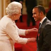 F1 champ Hamilton honoured with MBE