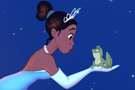 The Princess And The Frog features Disney's first ever black princess