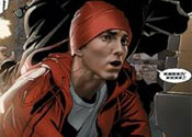 Eminem stars in comic book adventure