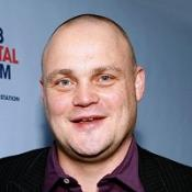Al Murray morphing into character