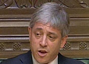Bercow wins the race to become Speaker