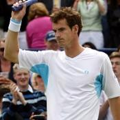 Blake stands in Murray's way