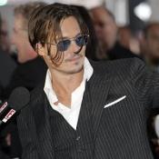 Depp at Public Enemies premiere