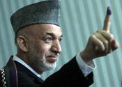 New President: Hamid Karzai