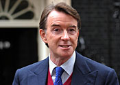 I'm not in charge, says Mandelson