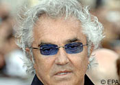 Dad's the word: Flavio Briatore's wife is expecting