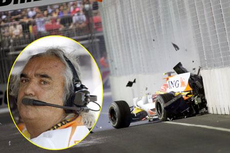 Briatore crash