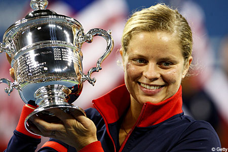 Kim Clijsters claimed a stunning US Open triumph