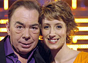 Connie FIsher with Andrew Lloyd Webber