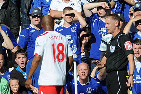 Police are not investigating Diouf's claims of racism
