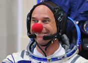First clown in space blasts into orbit
