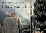 This Month's Title: I Saw Ramallah