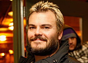 You can rely on Jack: Movie star Jack Black