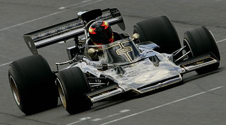 The 1972 Lotus F1 car
