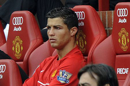 Ronaldo has never liked warming the bench