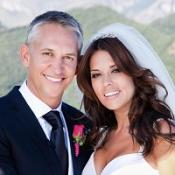 Danielle Bux and Gary Linekar married in Italy