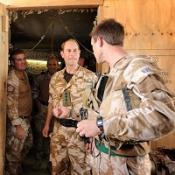 Edward visits troops in Afghanistan