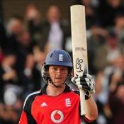Morgan helps England to strong total