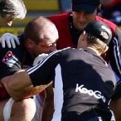 Borthwick facing month on sidelines