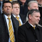 Phil Brown and Paul Duffen (right)