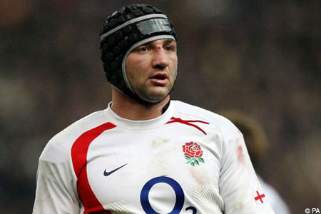 Boost: Borthwick's eye injury is not as serious as first thought