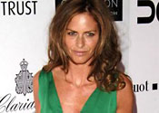 Cleaned up: Trinny reveals past drugs hell