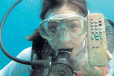 Diver remote