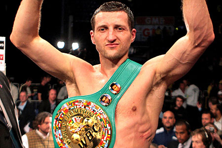 Still the king: Carl Froch