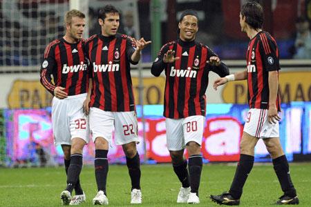 David Beckham Milan