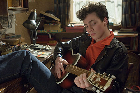 Nowhere Boy focuses on young John Lennon's journey from angsty teen to emergent rocker